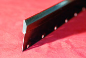 Wiper blade for the printing industry